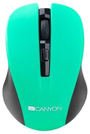 Беспроводная мышь CANYON CNE-CMSW1GR Green/Black