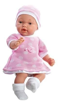 Кукла Arias Elegance в розовом платье и шапочке, 28 см