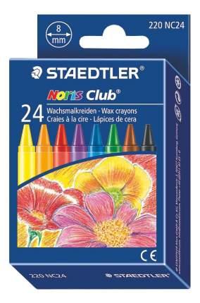 Восковые мелки Staedtler Noris Club 24 цветов