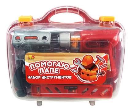 Набор игрушечных инструментов Помогаю Папе Набор инструментов в чемодане PT-00269