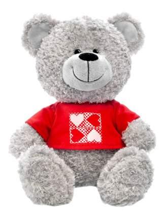 Мягкая игрушка LAVA Медведь в кофточке с сердечками музыкальный 23 см