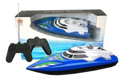 Радиоуправляемый катер Han Xing Toys Катер синий MX-0013-4