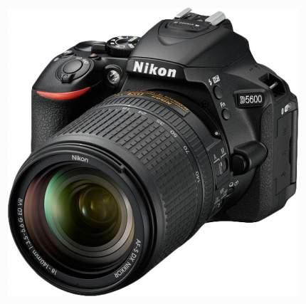 Зеркальный фотоаппарат Nikon D5600 VBA500K002 Black
