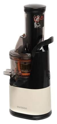 Соковыжималка шнековая Oursson JM6001/IV beige/black