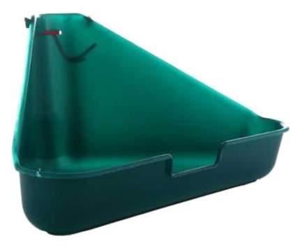 Туалет для мелких грызунов I.P.T.S. угловой (Зелёный)
