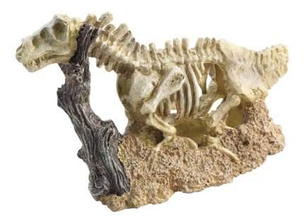 Грот для аквариума Laguna Скелет динозавра 2804LD, полиэфирная смола, 25,5х10х16,5 см
