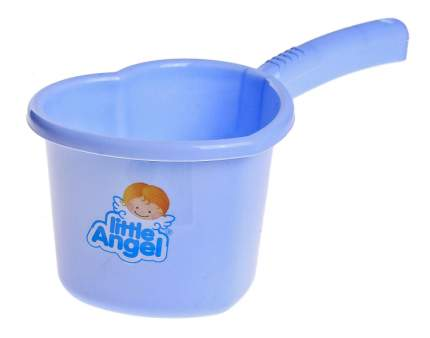 Ковшик для купания Little Angel Голубой пастельный