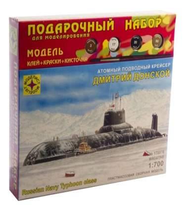 Модели для сборки Моделист Атомный подводный крейсер Дмитрий Донской