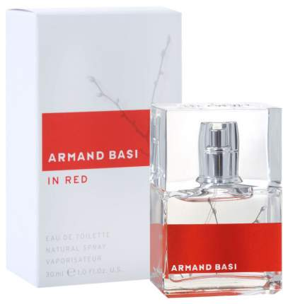 Туалетная вода Armand Basi In Red, 30 мл