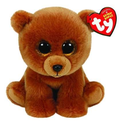 Мягкая игрушка TY Мишка коричневый Brownie, Beanie Babies 20 см