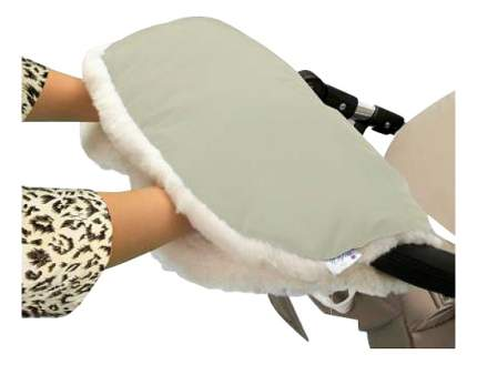 Муфта для рук мамы на детскую коляску Esspero На коляску Soft Fur Beige