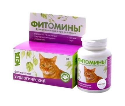 Витаминный комплекс для кошек VEDA Фитомины, Профилактика МКБ 100 таб