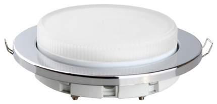 Встраиваемый светильник Camelion FP1-GX53-S серебро
