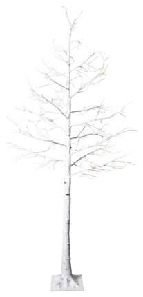 Световое дерево Star trading Tobby tree birch Белое 210 см