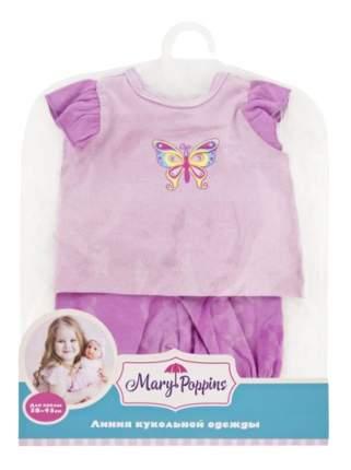 Кофточка и брючки Бабочка для кукол Mary Poppins 38-43 см