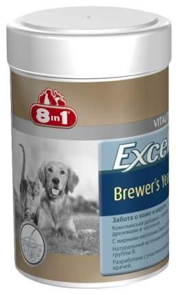 Витаминный комплекс для собак, для кошек 8in1 Brewers Yeast, с дрожжами и чесноком 140 таб
