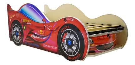Кровать Vivera СпортКар 270х150 красная