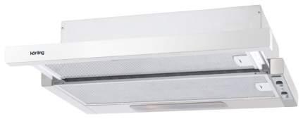 Вытяжка встраиваемая Korting KHP 6214 GW Silver/White