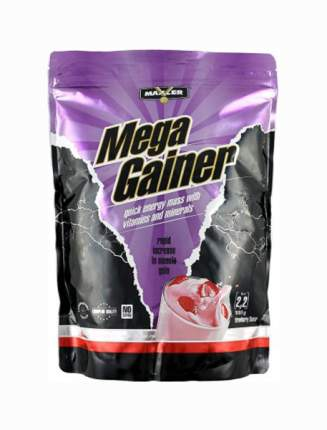 Гейнер Maxler Mega Gainer 1000 г Strawberry