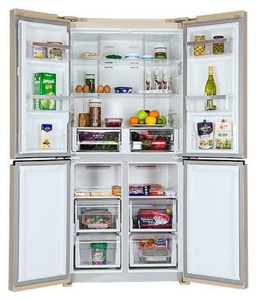 Холодильник Hiberg RFQ-490DX NFY Beige