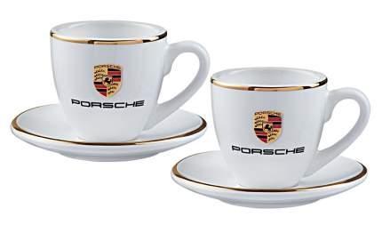 Набор из двух чашек для эспрессо Porsche WAP0505950H White