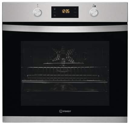 Встраиваемый электрический духовой шкаф Indesit IFW 3844 JP IX Silver/Black