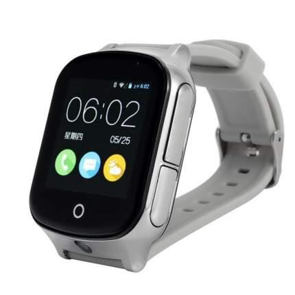 Детские смарт-часы Smart Baby Watch T100 Silver/Gray