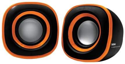 Колонки компьютерные BBK CA-301S Черный/Оранжевый