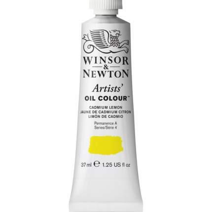 Масляная краска Winsor&Newton Artists лимонный кадмий 37 мл