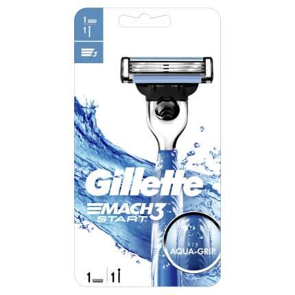 Мужская бритва Gillette Mach3 Start с 1 сменной кассетой
