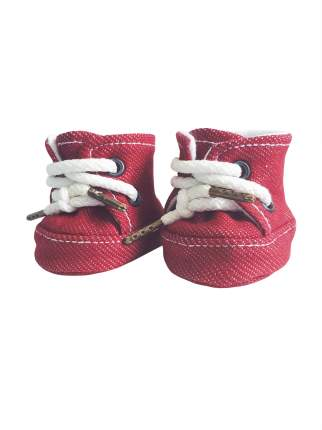 Набор одежды для кукол КоЛибри Кроссовки Колибри 05-01 красный