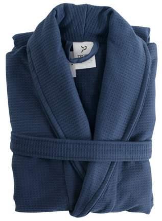 Халат банный темно-синего цвета Essential S/M