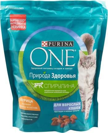 Сухой корм для кошек Purina One Природа Здоровья, с высоким содержанием курицы, 0,68кг