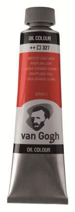 Краска масляная Van Gogh туба 40мл №327 Краплак светлый