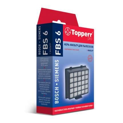 НЕРА фильтр Topperr FBS 6 для пылесосов BOSCH, SIEMENS