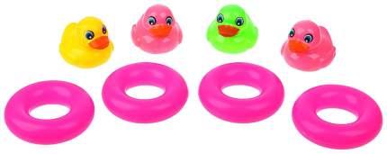 Игрушка для купания Крошка Я Утёнок, круг 3629869 8 шт