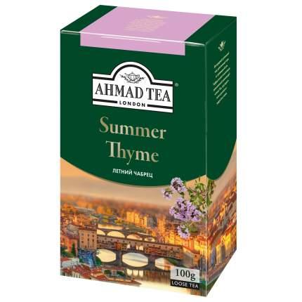 Чай черный Ahmad Tea summer thyme 100 г