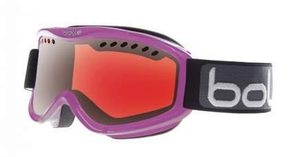 Горнолыжная маска Bolle Carve 2016 crystal purple/vermillion gun