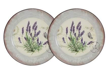 Набор суповых тарелок Лаванда 21 см Anna Lafarg LF Ceramics 55283