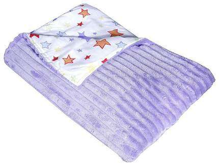 Плед детский двухсторонний, 90х90 см (цвет: фиолетовый)
