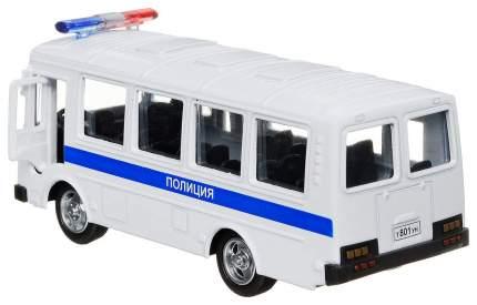 """Инерционный металлический автобус """"Полиция"""""""