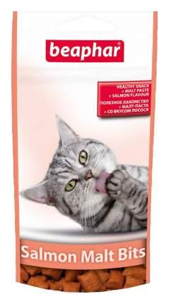 Лакомство для кошек Beaphar Malt Bits, подушечки с мальт-пастой, лосось, 35г