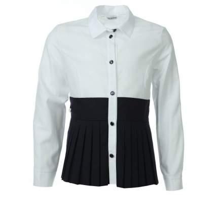 Блузка UNONA D'ART, цв. белый, 128 р-р