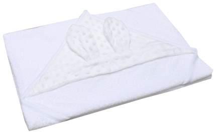 Полотенце детское AmaroBaby Honey bunny белый 90*90 см