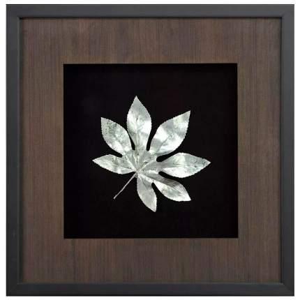 Панно Большие листья 4 Mart Gallery, 500x500x40мм