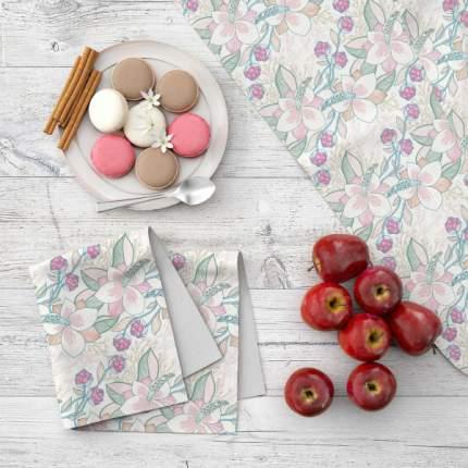 Набор кухонного текстиля MARENGO TEXTILE «Цветочная нежность» 7 пр.