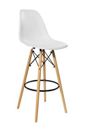 Барный стул STOOL GROUP 8056H WHITE SEAT + 8056H LEGS Белый