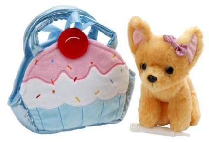 """Мягкая игрушка """"Чихуахуа"""", 19 см (в сумочке)"""