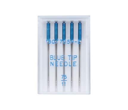 Иглы Organ BLUE TIP JANOME 5/75