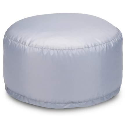 Бескаркасный пуф-таблетка ПуффБери Таблетка XL, оксфорд, Серый